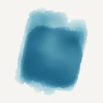 Metalicky modrý